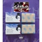 Kojie SAN Dream White Kojic Lightening Anti Ageing Soap 2 Small 65 Gramme Bars