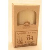 Khaokho Talaypu Bar Soap Ginger & Menthol (Dome-shaped)
