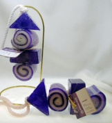 Lavender Kebab Soap on Rope