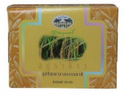 Abhaibhubejhr Thai Rice Bran Soap 100 G. Thailand Product