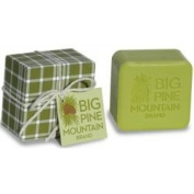 Big Pine Mountain Hand Wrapped Soap, Green Plaid