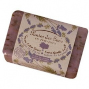 Panier des Sens Exfoliant Lavender Shea Butter Soap