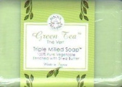 Green Tea Triple Milled Soap Enriched with Shea Butter