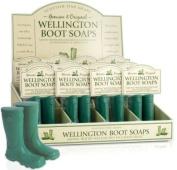 Wellington Boot Soap green 2x75g Scottish Fine Soaps