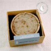 Brigit True Organics- Lavender Round Castile Soap, 80ml