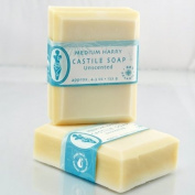 Brigit True Organics- Unscented Castile Soap, approx. 4.7 - 160ml