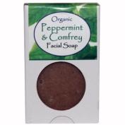 Kettle Care Organic Peppermint & Comfrey Facial Bar Soap