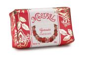 Mistral Edition Boheme Soap, Pomegranate, 200 Grammes Bar