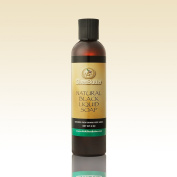 Natural Black Liquid Soap 240ml By AAA Shea Butter