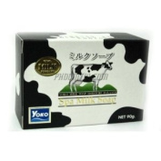 Yoko - Spa Milk Soap Soap Cleanser. Combined value of milk protein 90g.