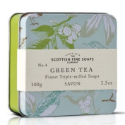 The Scottish Fine Soaps Company Soap In A Tin - Birds - Green Tea Triple-Milled
