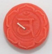 Orange Unscented Second Chakra Candle - 2nd Chakra