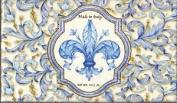 Saponificio Artigianale Fiorentino Blue Fleur De Lis Single Soap Bar 310ml From Italy