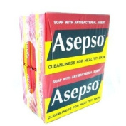 4x 80g Asepso Soap with Antibacterial Agent Cleanliness for Healthy Skin Original Made in Thailand