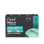 Dove Men+Care Aqua Impact Body and Face Bar