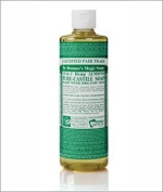 Organic Almond Oil Pure Castile Soap Liquid-16 oz Brand