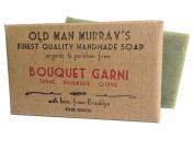 Bouquet Garni (2 Bars) Thyme, Rosemary, Clove Organic Soap