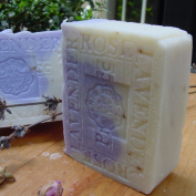 French Lavender Soap with Rose Petals and Shea Butter