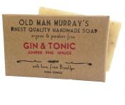 Gin & Tonic (2 Bars) Juniper, Pine, Spruce Organic Soap