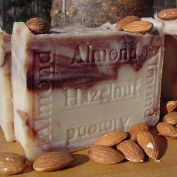 Handmade Almond Hazelnut Soap with Organic Acai Berry Butter