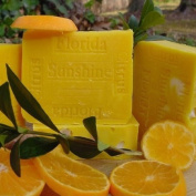 Handmade Florida Citrus Sunshine with Mango Butter Soap
