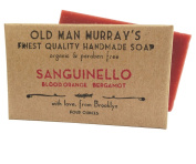 Sanguinello (2 Bars) Blood Orange & Bergamot Organic Soap