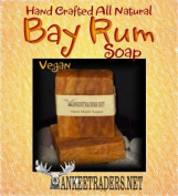 Bay Rum Soap - All Natural Handmade Soaps for Men / 2 Bars