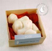 Brigit True Organics- Rose Venus of Willendorf Castile Soap, 70ml