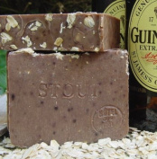 Oatmeal and Stout Soap Bar with Shea Butter Made with Guinness Extra Stout Beer