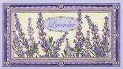 Saponificio Artigianale Fiorentino Bouquet Lavender Single Soap Bar 310ml From Italy