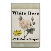 Wildflower Soaps White Rose 120ml Soap Bar