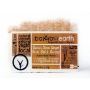 BambuEarth 130ml Handmade Soap Bars in Plantable Packaging - CITRUS, GINGER + SEA SALT