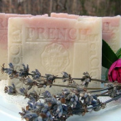 Provence Lavender / Jasmine Grandiflorum with Sea and Rose Clay Soap