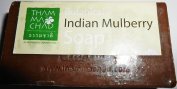 Indian Mulberry Noni Soap Mild Natural Soap for Body Cleansing Brighten and Refresh Skin 100 g Made in Thailand