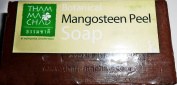 Mangosteen Peel Soap with Clove Oil Mild Natural Soap for Body Cleansing Soften and Moisturise Skin 100 g Made in Thailand