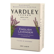 Yardley London Soap Bath Bar, English Lavender & Essential Oils, 130ml /120 G