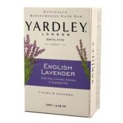 Yardley London Soap Bath Bar, English Lavender & Essential Oils, 130ml /120 G