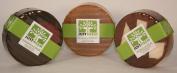 JustNeem All Natural Neem Soap African Variety Pack - (3) 120g bars - Morrocan Dusk, African Gem and Sahara Desert