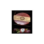 ARB - Aromatherapy Organic Bar Soap 100 g. Round Shape - MANGOSTEEN & HUSK POWDER