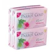PARROT GOLD PREMIUM SOAP WHITENING 4X80 G.