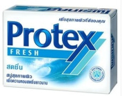 Protex FRESH Soap Bar hygienic antibacterial skin 75g. Pack 4