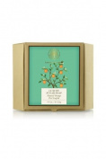 Forest Essentials Luxury Sugar Soap Natural Orange Peel Loofah - 125g