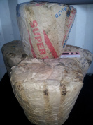 Raw African Black Soap From Ghana 2.27kg