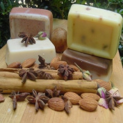Four Bar Variety Pack (Soaps) Goat Milk - Coffee- Citrus - Butter Milk- Lavender- Oatmeal