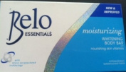 Belo Essentials Nourishing Whitening Body Bar Soap w/ Kojic Acid & Glutathione 135g - 4 Pack