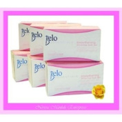 6 Belo Essentials Smoothening Whitening Body Bar 135g Dr Vicki Belo