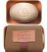 I Coloniali Aromatic Soap with Illipe Butter (in Dish) 150g soap