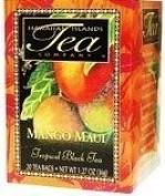 Hawaiian Value Pack Islands Tea Mango Maui Black 2 Boxes