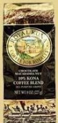 Hawaiian Value Pack Royal Kona Coffee Ground Chocolate Macadamia 2 Bags