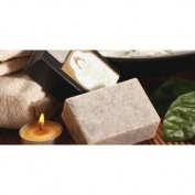 Asian Premium White Mud Face Wash Facial Soap Bar with Coconut Scrub (From Thailand) - ILLUMINATE Mineral Soap Bar